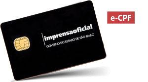 e-CPF A3 - Cartão inteligente (ME)