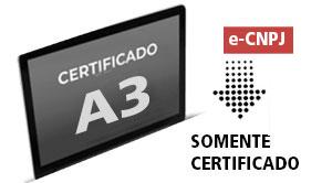 e-CNPJ A3 - (somente certificado) (ME)